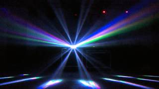 RGBW Qual Color Derby Butterfly Led Effect Light With 28 Sharp Beams
