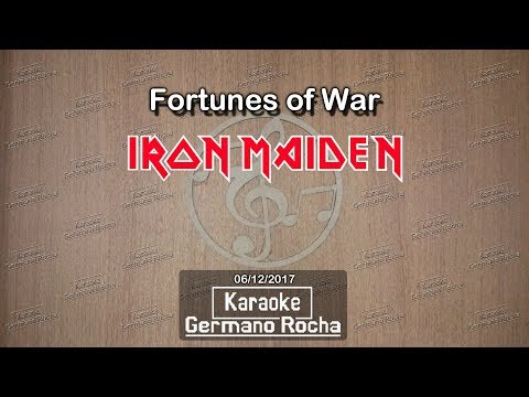 Iron Maiden - Fortunes Of War (Karaoke)