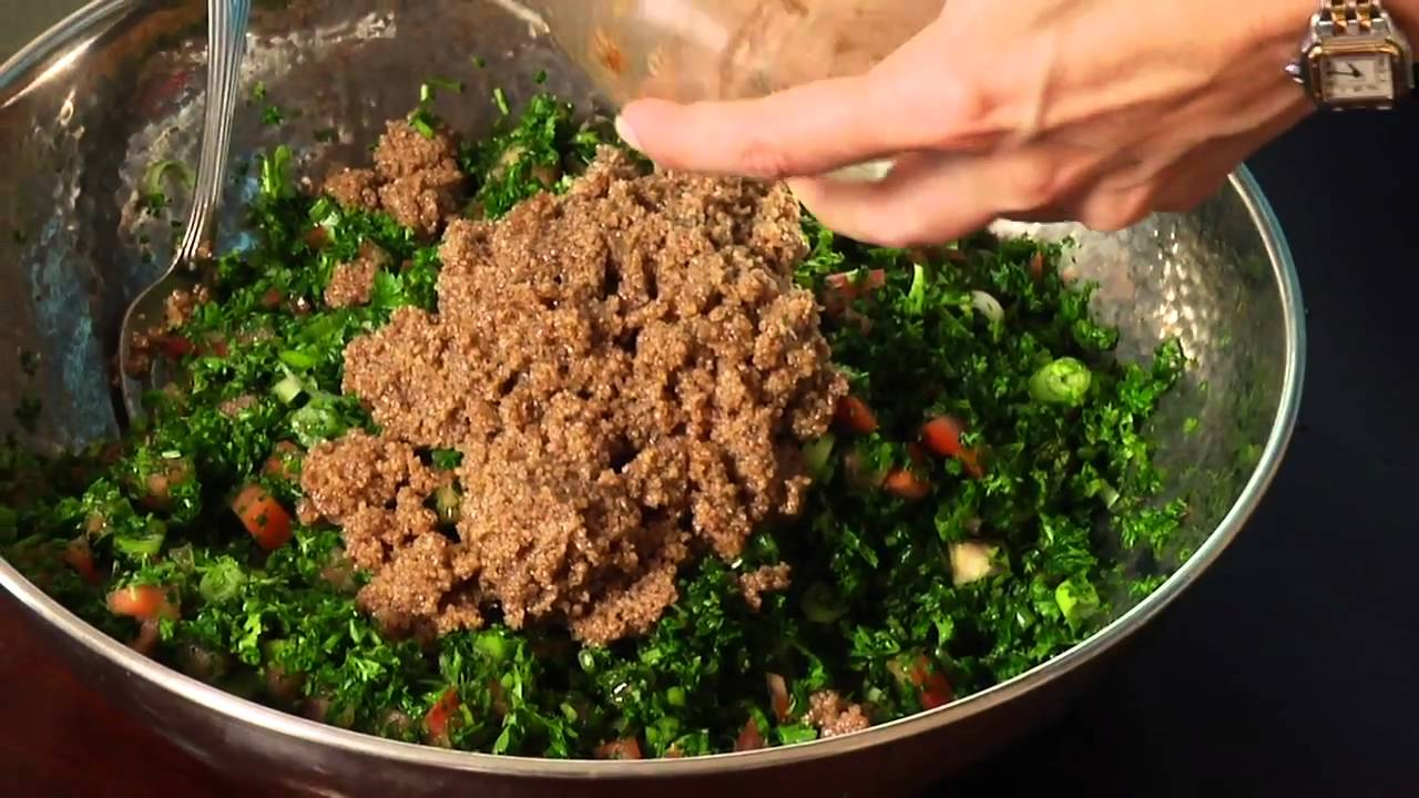 Arabic tabouleh youtube arabic tabouleh forumfinder Choice Image