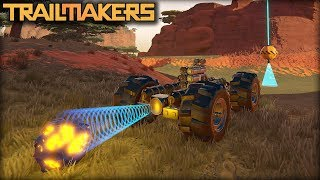 Electromagnets Are The Solution to All of The Problems (Trailmakers Gameplay)