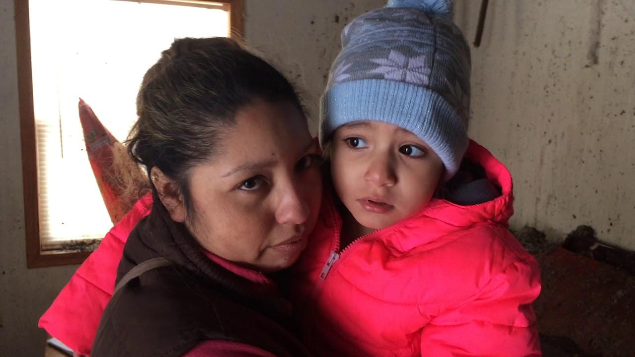 Isabel Sanchez and Maria Vidal Jimenez talk about a Christmas Eve fire