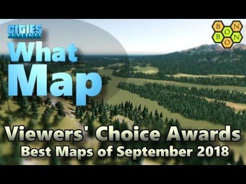 Cities Skylines - Top Ten Maps - September 2018 - Viewers' Choice