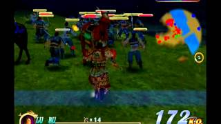 Dynasty Warriors 2 - Lu Bu at Wuzhang Plains (Hard Difficulty)