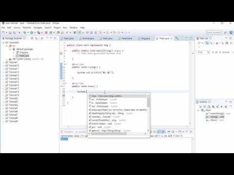 자바 기초 프로그래밍 강좌 20강 - 인터페이스 (Java Programming Tutorial 2017 #20)