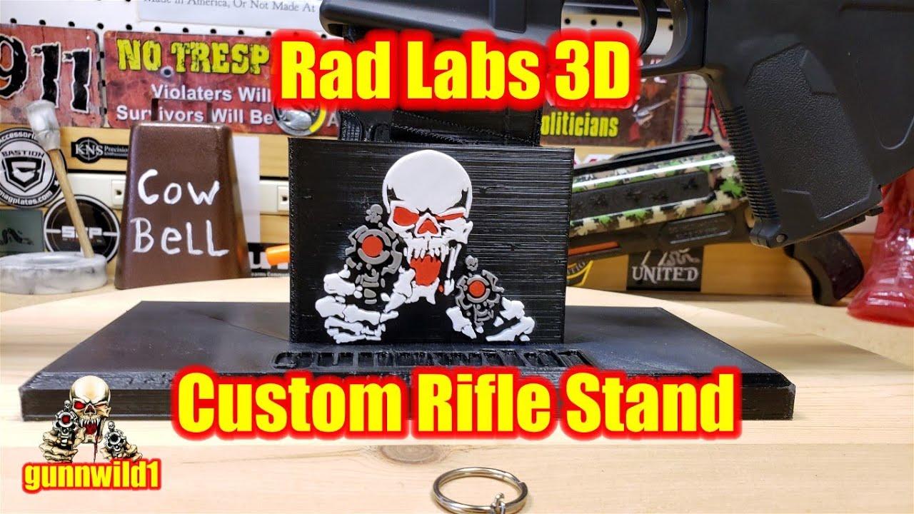 Rad Labs 3D Custom Rifle Stand