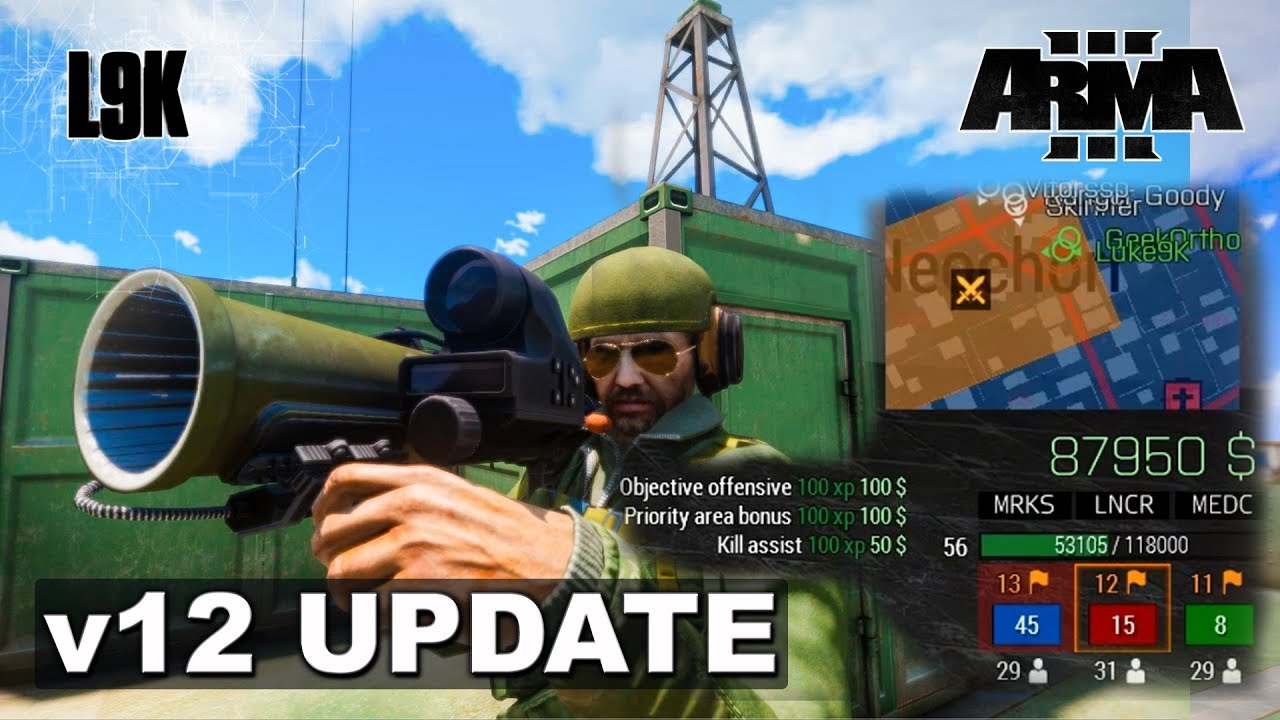 KOTH v12 UPDATE - Arma 3 King of the Hill