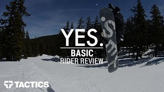 YES. Basic 2017 Snowboard Rider Review - Tactics.com