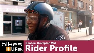 Newton's Brompton Folding Bike Story, Brompton Video