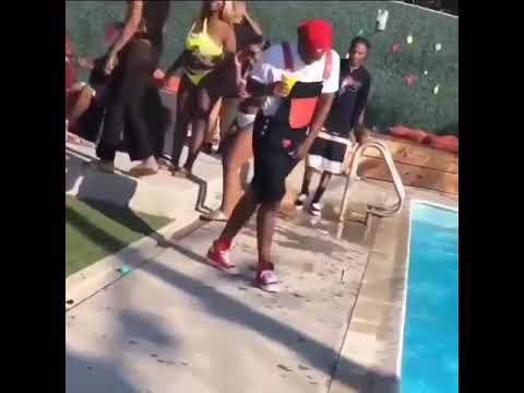 YG dancing too cocky