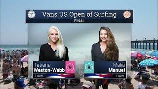 2016 Vans US Open of Surfing: Final