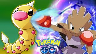 POKEMON GO - Lowest CP POKEMON Vs HIGHEST LEVEL CP GYM Battle Challenge!
