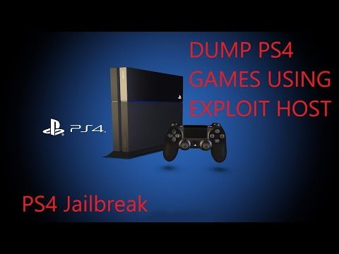 Dump PS4 Games With Exploit Host (No Computer Needed)