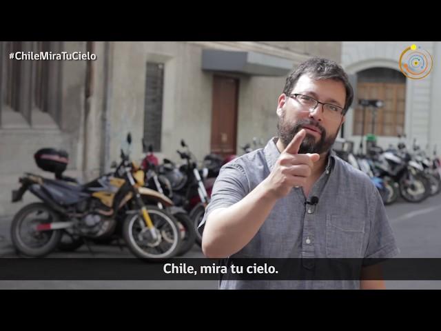Marcos Díaz, investigador responsable del SUCHAI, te invita al Día de la Astronomía
