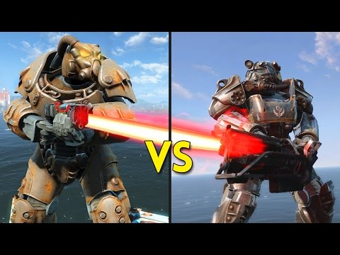 Fallout 4 -  50 ENCLAVE vs 50 BROTHERHOOD OF STEEL - Battles #55