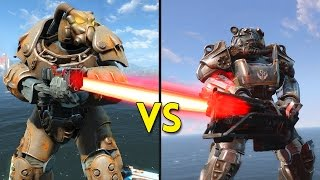 Fallout 4 -  50 ENCLAVE vs 50 BROTHERHOOD OF STEEL - Battles #55