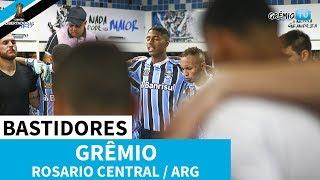 [BASTIDORES] Grêmio 3x1 Rosario Central-ARG (Libertadores 2019) l GrêmioTV