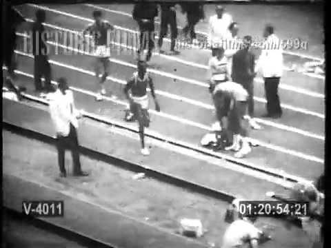 Bob Beamon Long Jump in Slow Motion