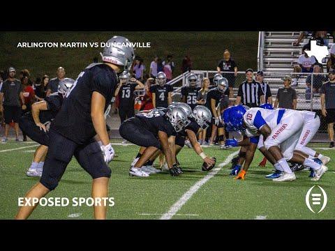 Martin High School vs Duncanville High School Football Highlights   2019 Texas Football