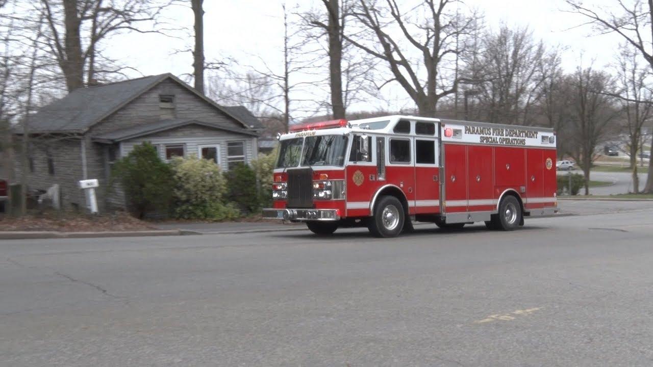 Paramus,NJ Fire Department Hazmat 3 - YouTube