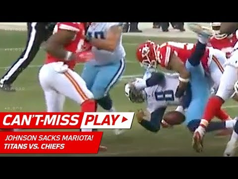 Derrick Johnson Buries Marcus Mariota w/ Drive-Ending Sack! | Can't-Miss Play | NFL Wild Card HLs
