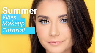 Summer Vibes Makeup Tutorial | Ali Andreea