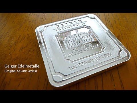 Geiger Edelmetalle Square Bars