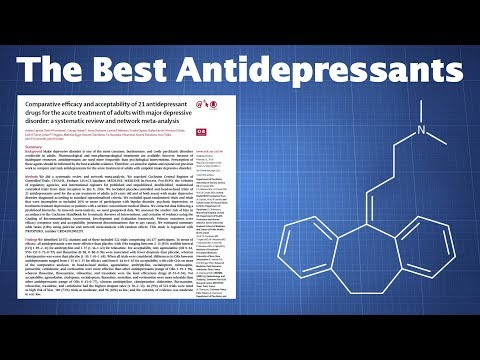 Overview: The Most And Least Effective Antidepressants