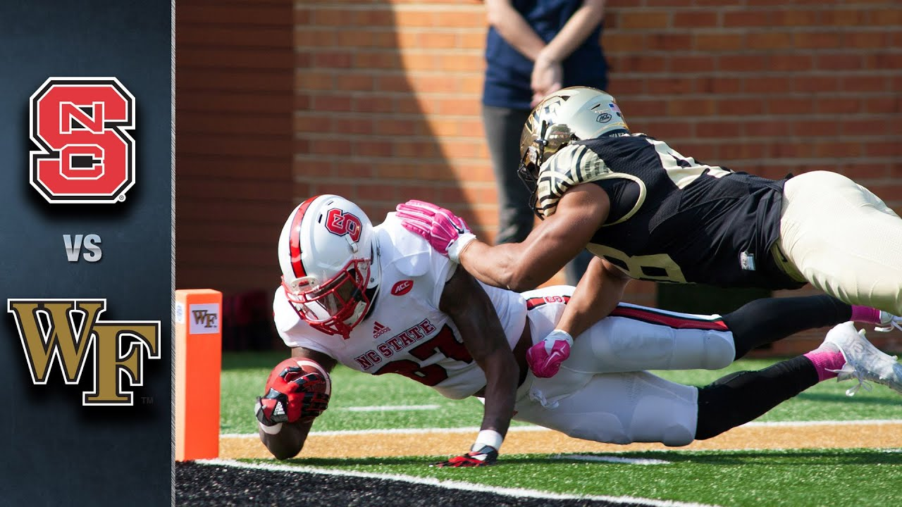 5 things to know about Wake Forest-N.C. State football game