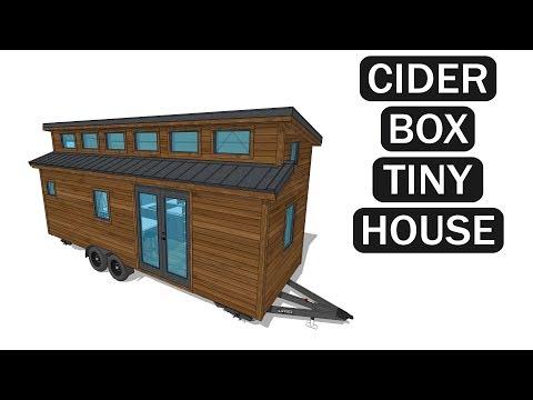 Cider Box Tiny House - 3D Model