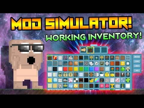 Growtopia Mod Simulator (With Inventory!)