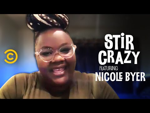 Why Nicole Byer Wrote a Script for White Families to Talk About Race - Stir Crazy with Josh Horowitz
