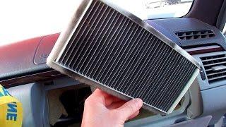 Замена салонного фильтра Mercedes W210 cabin filter replacement(В этом видео показано расположение фильтра в машине оснащенной климат-контролем. Cabin Filter Hengst E942LI-2 Music track..., 2016-03-13T16:05:59.000Z)