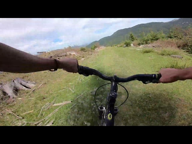 Aventuri pe bicicleta : Ultima portiune Varful Omu - Simon