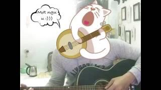 Tự nhiên buồn - guitar cover by me