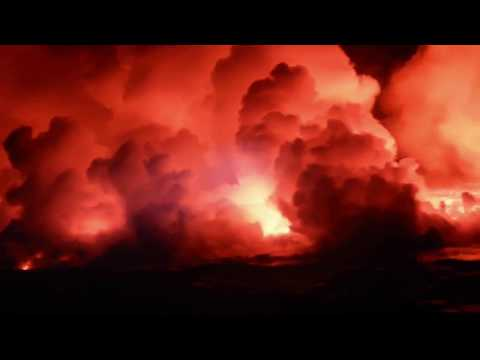 Beautiful and Dramatic Lava Ocean Entry of Fissure 8 Kapoho Hawaii with Lava Ocean Tours