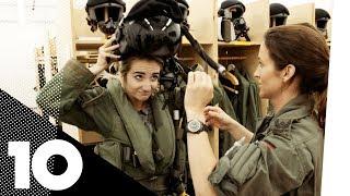 Jodie trifft EUROFIGHTER-PILOTIN Nicola Baumann - Traumberuf Militärpilotin