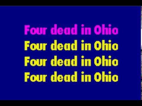 Ohio Karaoke - Crosby, Stills, Nash, Young (Neil Young)