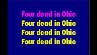 Ohio Karaoke - Crosby, Stills, Nash, Young (Neil Young)