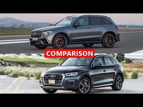 2018 Mercedes Amg Glc Vs Audi Q5 Comparison Interior Exterior Test Drive