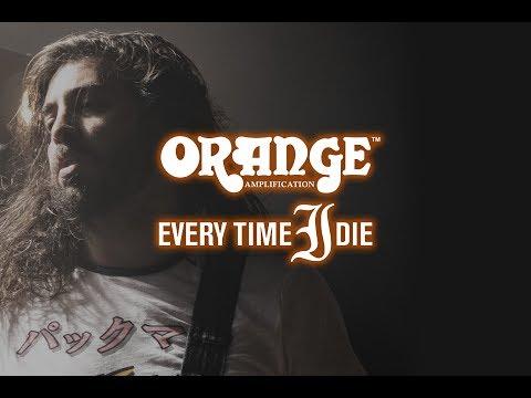 Orange Terror Bass - Steve Micciche of Every Time I Die.