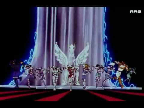Los Caballeros del Zodiaco - Opening 1 (HD)