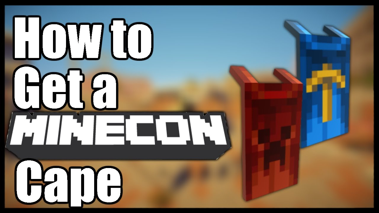 How To Get A Minecon Cape Free 100 Legit No Mods Youtube