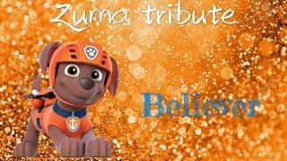 Paw patrol Zuma tribute for ZUMA THE PUPPY~request