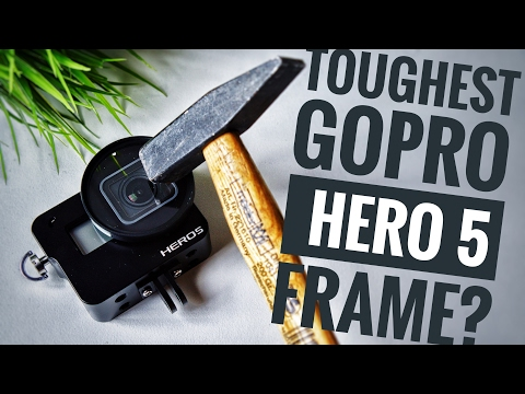 Best Case for GoPro HERO 5? Cheap Aluminium Frame