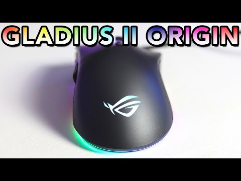ASUS ROG Gladius II Origin Mouse Review - Andy's Impressed!