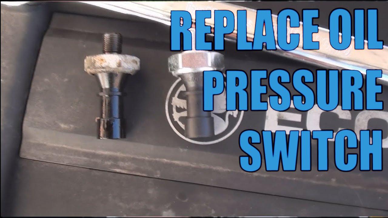 Replace The Oil Pressure Switch Corsa 1 2