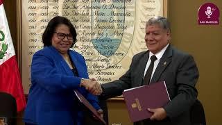 Tema:Firma de convenio con la Universidad Autónoma de Santo Domingo