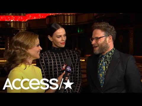 Charlize Theron & Seth Rogen Channeled Their Inner Julia Roberts For Their Upcoming Rom-Com