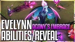 EVELYNN REWORK ALL ABILITIES REVEALED!! Agony's Embrace New Champion - League of Legends