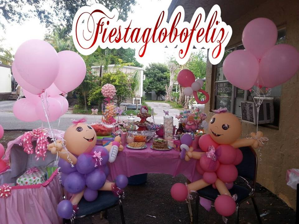 Como hacer un beb grande con globos para baby shower for Decoracion de baby shower nino